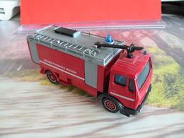 Véhicule De Pompier - Mercedes à Grande Puissance Mousse - 1/50 - SOLIDO FRANCE - N°23 - Pompiers