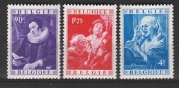 Belgique N°  792 à 794 **  MNH  Impeccables  (cote 170 Euros) - Unused Stamps