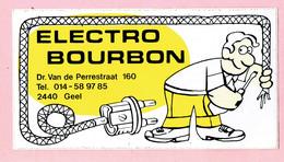 Sticker - ELECTRO BOURBON - Dr. Van De Perrestraat 160 GEEL - Stickers