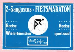 Sticker - Fietsmaraton Geelse Wielertoeristen En Sportraad GEEL - Stickers