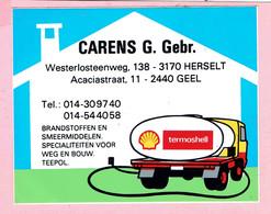 Sticker - Termoshell - CARENS G. Gebr. - Herselt + GEEL - Stickers