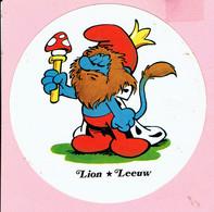 Sticker - Sterrenbeeld Smurf - Lion - Leeuw - Milkana - Stickers
