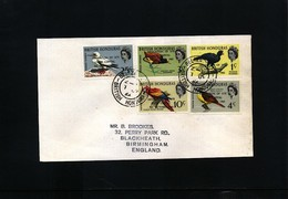 British Honduras 1971 Birds Interesting Cover - Albatros