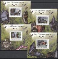 Comoros 2009 - MNH - Bat, WWF - W.W.F.