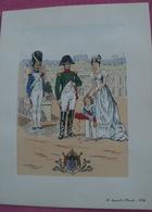 Gravure Pierre Albert LEROUX  Napoleon Bonaparte A SAINT CLOUD 1813 - Stampe & Incisioni