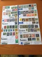 ++++ Kleine Sammlung 10 Dekoratieve Briefe Österreich ++++ - Stamps
