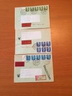 ++++ Kleine Sammlung DDR 3 R Briefe 1990 ++++ - Stamps