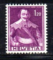 491/1500 - SVIZZERA 1941 , Unificato N. 364  ***  MNH.  Soggetti Storici - Svizzera