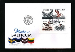 Sweden 1992 Birds FDC - Albatros