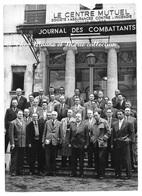 CENTRE MUTUEL SOCIETE D ASSURANCES EMPLOYES - JOURNAL DES COMBATTANTS - AGENCE LAPI STAINS - SEINE SAINT DENIS - PHOTO - Métiers