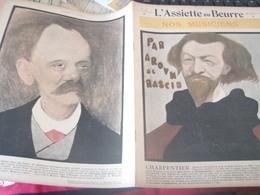 ASSIETTE  BEURRE /CHARPENTIER SAINT SAENS/WIDOR REYER MASCANI BRUNEAU BOITO CAVALLO PLANQUETTE PUCCINI MASSENET - Livres, BD, Revues