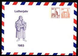 Bund PU137 B1/001 MARTIN LUTHER Mainz 1983 - Privatumschläge - Ungebraucht