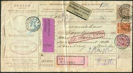 Italy 1911 Parcel Card Bulletin D'expédition Colis Paketkarte Postage Due PORTO Customs Zollamt > Austria Ukraine Poland - Colis-postaux