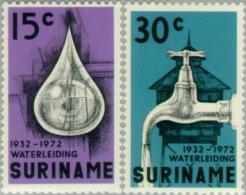 Suriname 1972 40 Jaar Waterleiding - NVPH 577 MNH** Postfris - Suriname ... - 1975