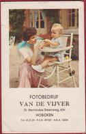 Oud Fotohoesje Pochette De Photos Fotobedrijf Van De Vijver Hoboken St. Bernardse Steenweg - Photographie
