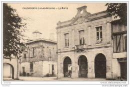 D47  CAUDECOSTE  La Mairie - France