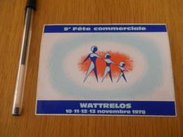 Autocollant - Ville - WATTRELOS Foire Commerciale 9ème - Stickers
