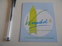 Autocollant - Ville - WASQUEHAL Tourisme - Stickers