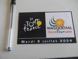 Autocollant - Ville - WASQUEHAL - Tour De France 2004 Cyclisme - Stickers