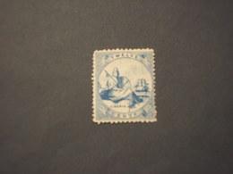 LIBERIA - 1860 STATUA LIBERTA'  12 C.(qualità Discreta, Come D'uso) - NUOVO(+/++) - Liberia