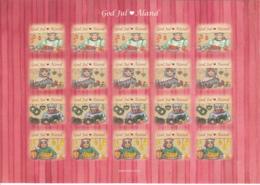 Aland 2014 MNH Sheet Of 20 Christmas Seals Market Vendors 4 Different - Aland