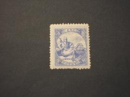 LIBERIA - 1880 STATUA LIBERTA'  1 C. -  NUOVO(++) - Liberia