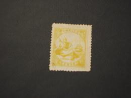 LIBERIA - 1880 STATUA LIBERTA'  12 C. - TIMBRATO/USED - Liberia