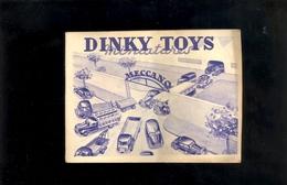 Catalogue DINKY TOYS MECCANO Paris Automobiles Voitures Miniatures 1951 Ford Vedette 24Q Traction Citroen Camions - Dinky
