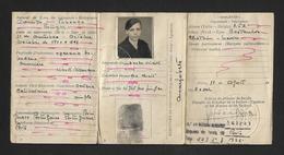 1942 BILHETE De IDENTIDADE Mulher Natural De TABUAÇO (Viseu). Portugal Identity Card Woman Document. - Documents Historiques