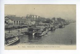 CPA Paris 16 Paris Embarcadère Des Bateaux Omnibus Au Point Du Jour 52 - Arrondissement: 16