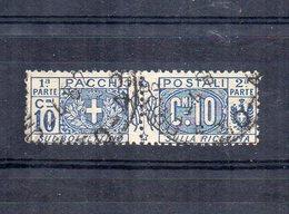 Italia - Regno - 1914/1923 - Pacchi Postali - 10 Centesimi - Nodo Savoia - Usato - (FDC12075) - Paquetes Postales