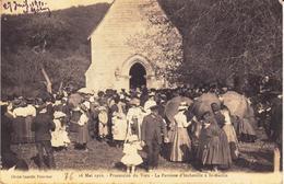 Incheville. 16 Mai 1910. Procession Du Vœu - Other Municipalities