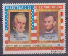 1975 Guinea Equatoriale - Bicentenario Degli Stati Uniti - Guinea Equatoriale