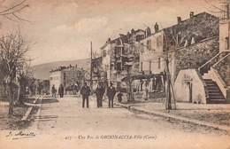 CPA Une Rue De GHISONACCIA - Ville ( Corse ) - France