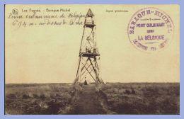 CPA - Les Fagnes (Belgique) - Baraque Michel - Signal Géodésique / Waimes - Weismes - Waimes - Weismes