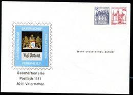 Bund PU142 B2/001 POSTHAUSSCHILD Vaterstetten 1979 - Post