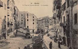 CPA BASTIA - La Place Du Nouveau Marché - Le Guadello - Bastia