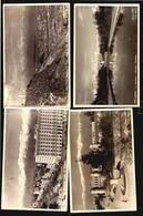 Chile Santiago 4 Real Photo Postcards Ca1940 (w5-109) - Chile