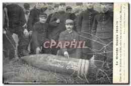 CPA Obus De 380 Allemand Environs De Verdun Militaria - Matériel