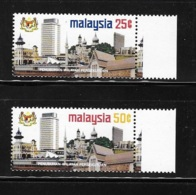 Malaysia 1974 Establish Kuala Lumpur As Federal Territority MNH - Malaysia (1964-...)