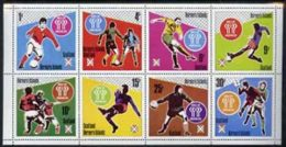 Bernera 1978 Football World Cup Perf Set Of 8 Values (1p To 30p) Unmounted Mint SPORT - Local Issues