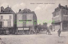 19 : ALLASSAC Avenue De La Gare , Rare Cliché MAURY - Sonstige Gemeinden