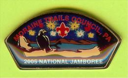 Pin's Scoutisme 2005 National Jamboree Moraine Trails Council, PA - 4N27 - Associations