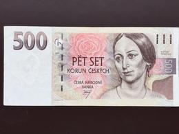 CZECHIA P20 500 KORUM 1997 AUNC - Tchéquie