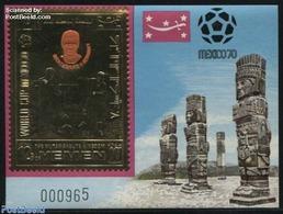 Yemen, Kingdom 1970 Beckenbauer S/s, (Mint NH), Football - Germans - Sport - History - Stamps