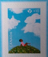 2018 Canada Community Foundation Semi-postal Child Bunny And Bear Single Stamp From Booklet MNH - Semi-Postals