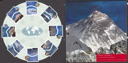 Canada, 2002, Sc 1960, MNH, Montagne, Mountain, Feuillet - Altri