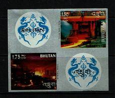 Bhutan 1969 Sc # Bf 103o  MNH **  Steel Mill & Rolling Mill - Bhutan