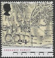 GB SG1578 1991 Bicentenary Of Ordnance Survey 24p Good/fine Used [38/31416/25D] - 1952-.... (Elizabeth II)