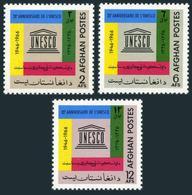 Afghanistan 741-743,MNH.Michel 984-986. UNESCO,20th Ann.1967. - Afghanistan